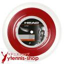 【ポイント2倍】ヘッド(HEAD) リンクス(LYNX) レッド 1.30mm/1.25mm/1.20mm 200mロール ポリエステルストリングス【あ…