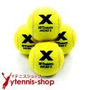 【ポイント2倍】トレトン(Tretorn) マイクロエックス micro X ノンプレッシャー テニスボール 4個セット イエロー×イ…