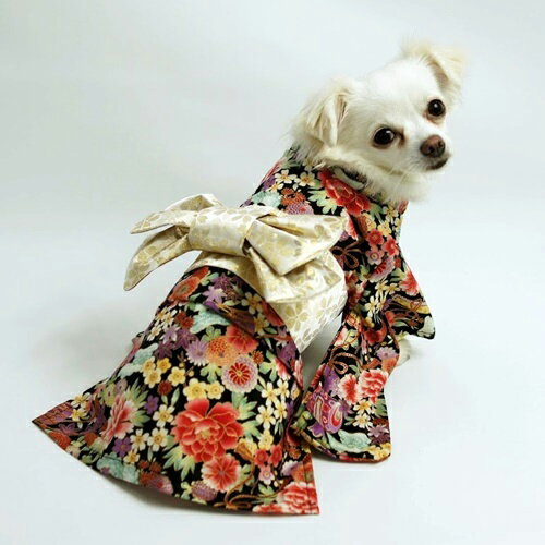 振袖着物(一重) ecoタイプ 小型犬向け型紙