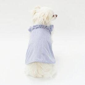 ショルダーフリルキャミソール型紙 eco印刷 小型犬向け