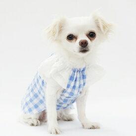ティアードスリーブスモック型紙 eco印刷 小型犬向け