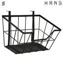 HANG はしご型収納 カゴ : ブラック 1個[サイズ] 320mm ハング/インテリア