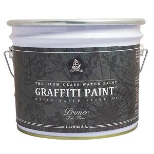 グラフィティーペイント GFFP 10L プロ用フロアプライマーグラフィティーペイント(透明)[1個] Graffiti Paint /ペンキ/水性塗料/ 床・フローリング・コンクリート・モルタル/プライマー/塗料