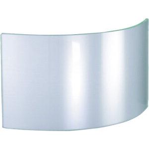 TR JUTEC 耐熱保護服 フード フリーサイズ用 ガラスバイザー クリア (入数)1個