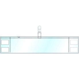 TRユニット クリーンルーム用腕章(透明) 特殊塩ビ 94×400