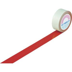 TR緑十字 ガードテープ(ラインテープ) 赤 50mm幅×20m 屋内用