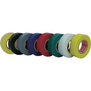 TRtesa 電気絶縁用ビニールテープ (10巻入) 19mm×10m グレー (10巻入)
