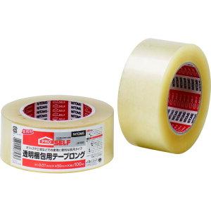 《7/19〜26 お買物マラソン 最大P28倍》TRニトムズ 透明梱包用テープ ロング