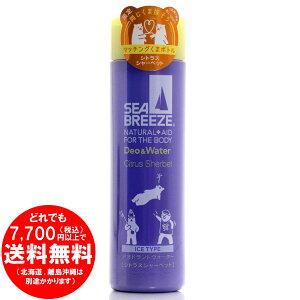 シーブリーズ デオ&ウォーター アイスタイプ シトラスシャーベットの香り 160ml (医薬部外品) [きらく屋][f]