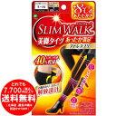 ピップ スリムウォーク (SLIM WALK) 美脚タイツ あったか満足 ストレスフリー S-Mサイズ ブラック おそと用 着圧 [き…