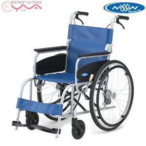車椅子 【日進医療器】 NEO αシリーズ NEO-1 α レザー [自走介助兼用] [折り畳み] [車いす] [車イス] [くるまいす] [自走式]