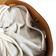 ikot/イコットレザー×コットンバスケットショルダーバッグハンドバッグショルダーバックレディースバックおしゃれバックかわいい大人小物送料無料