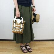 ikot/イコットロープハンドルバケツ型かごバッグかごバッグバッグかごレディースバックおしゃれかわいい大人小物送料無料