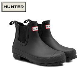 HUNTER/ハンター ORIGINAL CHELSEA オリジナル チェルシー ブーツ レディース 防水 耐水 ラバー