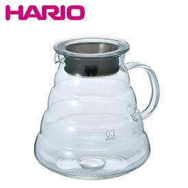 HARIO ハリオ XGS-80TB 実用容量800ml (2〜6杯用) V60レンジサーバー800クリア