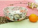 【送料・熨斗包装無料】一品物 桜ふるふる 手毬姫のお洒落な丸鉢色彩鮮やかな豪華な作品です!贈り物にも!!電子レンジ使用OK