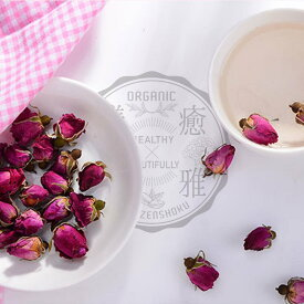 最先端乾燥法 玫瑰花蕾 10g 【低温真空マイクロ波乾燥 】 美麗花茶 ブレンド茶