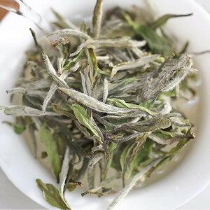白茶 白牡丹茶 50g 有機栽培茶葉使用