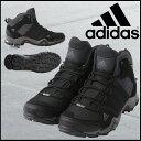 adidas【アディダス】AX2 MID GTX AJP-Q34271 メンズ・ユニセックス (Q34271)ダークシェール/ブラック/ライトスカーレットアウト...