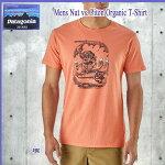 PatagoniaパタゴニアメンズナッツvsピトンオーガニックTシャツM'sNutvs.PitonOrganicT-Shirt(patagonia_2018ss)