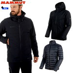 マムート(MAMMUT)Convey3in1HSHoodedJacketMenカラー:0052black-black(MAMMUT_2018FW)