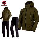 MAMMUT(マムート) CLIMATE Rain -Suit AF Men クライメイトレインスーツ アジアンフィット ゴアテックス カラー:4027 …