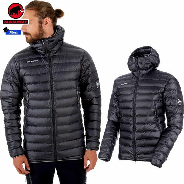 マムート(MAMMUT) Broad Peak Pro IN Hooded Jacket Men カラー:00150 phantom(MAMMUT_2018FW2)