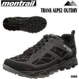 トレイルランニング シューズ モントレイル トレランシューズMontrail TRANS ALPS2 OUTDRY カラー:089 【outlet-od】