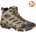 登山靴 メレル MERRELL モアブ2 ワイドモデルMOAB2 MID GORE-TEX WIDTH カラー:WALNUT ゴアテックス 防水 防水性 透…