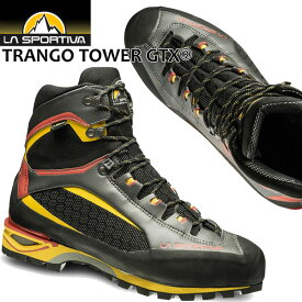 【ストアポイントアップデー】/スポルティバ トランゴ タワー GTX ブラック/イエロー TRANGO TOWER GTX