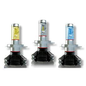 TOYOTA ist H14.5〜H17.4 NCP60,61,65 H4 Hi/Lo X3シリーズ 一体型ファンレスLEDヘッドライト 最新チップ使用 高輝度6000Lm 色温度3000K/6500K/8000K再設定可能 車検適合 2灯入り