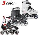 インラインスケート スラローム フリースケート対応 子供から大人まで ハードブーツ ブラック ホワイト ラベダ クーガ…