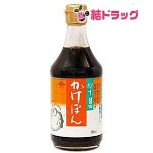 チョーコー ゆず醤油 かけぽん 瓶 400ml