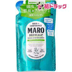 MARO 薬用デオスカルプシャンプー 400ml 詰め替え用