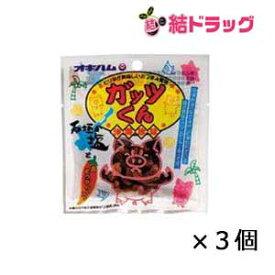 オキハム ガッツくん(バラ) 15g×3個セット