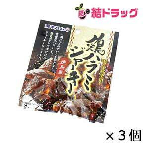 オキハム 鶏ハラミジャーキー焼鳥風(バラ) 20g×3個セット