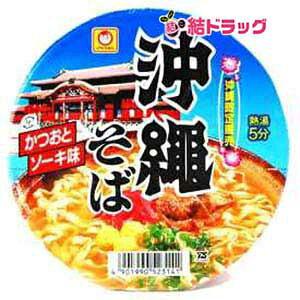 マルちゃん 沖縄そば カップ麺 12個入 かつおとソーキ味
