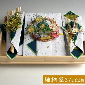 結納返し-略式結納品- 桜桃(ゆすら・青)セット