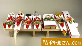 結納-関東式結納品-関東式羽衣7点セット(毛せん付)
