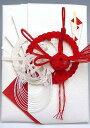 祝儀袋 代書無料サービス【結婚・新築御祝】10〜100万円に最適 祝儀袋HM290【鶴亀・赤白絹巻:直書き】