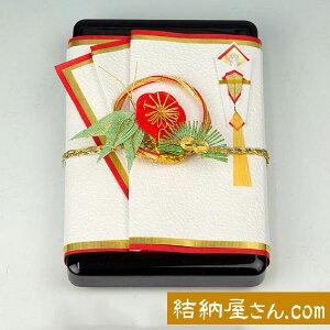 結納-略式結納品- 螺鈿(らでん)小花金子箱