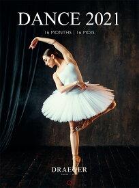ドレジャー 2021年【スモールカレンダー】DANCE(壁掛けタイプ)ダンス/踊り/優雅/華やか/イラスト/アート/写真/スケジュール/月曜始まり/日本語/英語/フランス製/中国印刷/輸入雑貨(21SC-002)[FSC認証]
