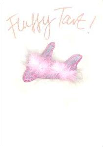 グリーティングカード【多目的】「ピンクのサンダル」【封筒/125×174mm】【封筒の色/金】【中面/無地】【布・ビーズなどをあしらったハンドメイドポストカード】