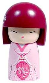 kimmidoll(キミドール)【ドール(S)】AI(アイ)(TGKFS034)こけし人形/フィギュア/かわいい/おしゃれ/輸入雑貨/オーストラリア生まれ