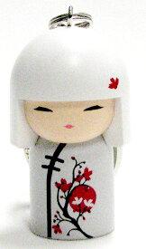 kimmidoll(キミドール)【キーホルダー】AKARI(アカリ)(TGKK063)こけし人形/フィギュア/かわいい/おしゃれ/輸入雑貨/オーストラリア生まれ