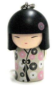 kimmidoll(キミドール)【キーホルダー】YOSHIMI(ヨシミ)(TGKK066)こけし人形/フィギュア/かわいい/おしゃれ/輸入雑貨/オーストラリア生まれ