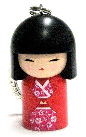 kimmidoll(キミドール)【キーホルダー】MANAMI(マナミ)(TGKK069)こけし人形/フィギュア/かわいい/おしゃれ/輸入雑貨/オーストラリア生まれ