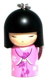 kimmidoll(キミドール)【キーホルダー】YUMI(ユミ/ユウミ)(TGKK070)こけし人形/フィギュア/かわいい/おしゃれ/輸入雑貨/オーストラリア生まれ