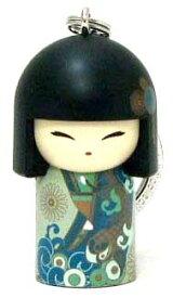 kimmidoll(キミドール)【キーホルダー】YOSHIKO(ヨシコ)(TGKK124)こけし人形/フィギュア/かわいい/おしゃれ/輸入雑貨/オーストラリア生まれ