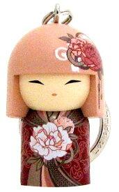 kimmidoll(キミドール)【キーホルダー】SAYAKA(サヤカ)(TGKK135)こけし人形/フィギュア/かわいい/おしゃれ/輸入雑貨/オーストラリア生まれ